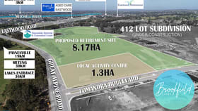 Development / Land commercial property for sale at 135-205 Great Alpine Road Lucknow VIC 3875