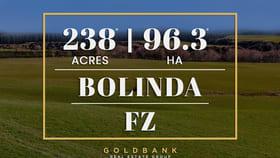 Development / Land commercial property for sale at 478 Bolinda-Darraweit Road Bolinda VIC 3432