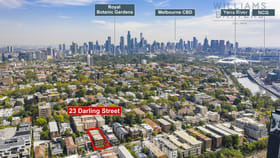 Development / Land commercial property for sale at 23 Darling Street South Yarra VIC 3141