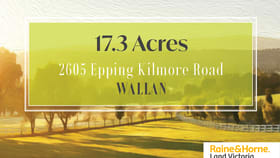Rural / Farming commercial property for sale at 2605 EPPING KILMORE ROAD Wallan VIC 3756