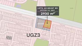 Development / Land commercial property for sale at Lot 3/65 Brunt Rd Officer VIC 3809