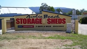 Factory, Warehouse & Industrial commercial property for lease at Airlie Beach Storage Sheds, 14 Commerce Close Cannonvale QLD 4802