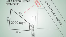 Factory, Warehouse & Industrial commercial property sold at Lot 1, 49 Owen Street Craiglie QLD 4877