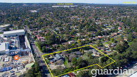 Development / Land commercial property sold at 42-44 Ashford Avenue Castle Hill NSW 2154