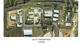 Factory, Warehouse & Industrial commercial property sold at Lot 2 and 3 Saleyard Road Gatton QLD 4343
