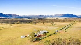 Rural / Farming commercial property sold at Hannick/176 Genowlan Road Glen Alice Rylstone NSW 2849