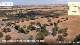 Rural / Farming commercial property for sale at 1105 Merriang Road Woodstock VIC 3751