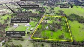 Rural / Farming commercial property for sale at 65-95 Ironbark Rd Bargo NSW 2574
