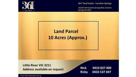 Rural / Farming commercial property for sale at Little River VIC 3211