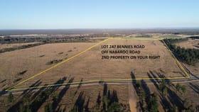 Rural / Farming commercial property for sale at Lot/ Bennies  Road Cowalla WA 6503
