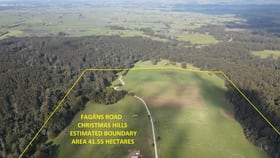 Rural / Farming commercial property for sale at 200 Fagans Road Christmas Hills TAS 7330