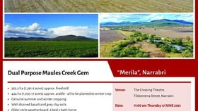 Rural / Farming commercial property for sale at 1390 Wave Hill Road Narrabri NSW 2390