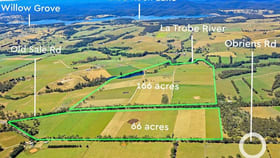 Rural / Farming commercial property for sale at 64B & 64F Old Sale Road Willow Grove VIC 3825