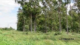 Rural / Farming commercial property sold at Lot 2 Benair Road Benair QLD 4610