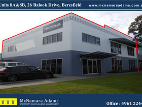Offices commercial property for sale at 8A&8B/26 Balook Drive Beresfield NSW 2322