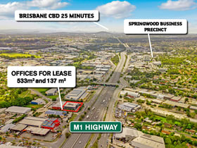 Offices commercial property for sale at 2 & 3/3431 Pacific Highway Springwood QLD 4127