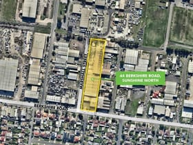 Factory, Warehouse & Industrial commercial property for lease at 44 Berkshire Road Sunshine North VIC 3020