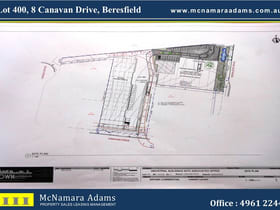 Development / Land commercial property for lease at Lot 400/8 Canavan Drive Beresfield NSW 2322