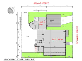 Development / Land commercial property for lease at 2/24 O'Connell Street West End QLD 4101