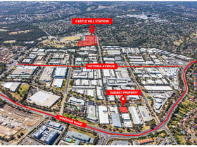 Factory, Warehouse & Industrial commercial property for lease at 1/4 Hudson Avenue Castle Hill NSW 2154