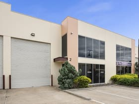Factory, Warehouse & Industrial commercial property for lease at 2/5 Kelletts Road Rowville VIC 3178