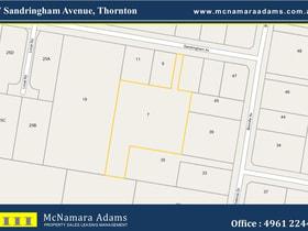 Development / Land commercial property for lease at 7 Sandringham Avenue Thornton NSW 2322