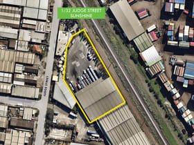 Industrial / Warehouse commercial property for lease at 1/32 Judge Street Sunshine VIC 3020