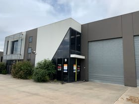 Factory, Warehouse & Industrial commercial property leased at 9/1-11 Bryants Road Dandenong VIC 3175