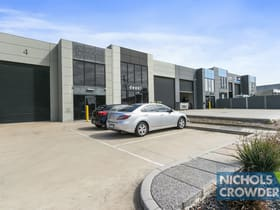 Factory, Warehouse & Industrial commercial property for lease at 4/13 Simcock Street Somerville VIC 3912