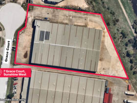 Industrial / Warehouse commercial property for lease at 7 Grace Court Sunshine West VIC 3020