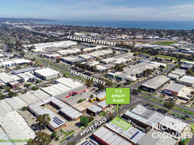 Factory, Warehouse & Industrial commercial property for lease at 7/2 Apsley Place Seaford VIC 3198