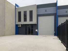 Factory, Warehouse & Industrial commercial property for lease at 5 Katz Way Somerton VIC 3062