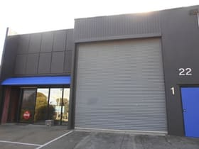 Factory, Warehouse & Industrial commercial property for lease at 1/22 London Drive Bayswater VIC 3153