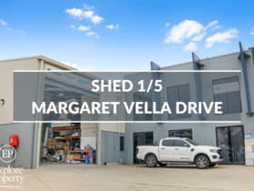 Factory, Warehouse & Industrial commercial property for lease at 1/5 Margaret Vella Drive Paget QLD 4740