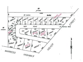 Development / Land commercial property for sale at Cnr Warrego Highway & Volker Street Dalby QLD 4405