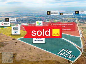 Development / Land commercial property for sale at 132HA on Bulban Road Werribee VIC 3030