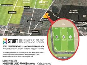 Development / Land commercial property for sale at Lot 62-64 Sturt Street Ballarat VIC 3350