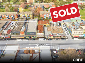 Retail commercial property sold at 178-180 Victoria Street Richmond VIC 3121