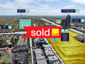 Development / Land commercial property sold at 28-30 Cambridge Street Box Hill VIC 3128