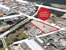 Development / Land commercial property for sale at Lot 5001 Talbot Road Hazelmere WA 6055