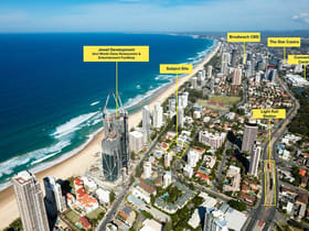 Development / Land commercial property for sale at 203-211 Surf Parade Broadbeach QLD 4218