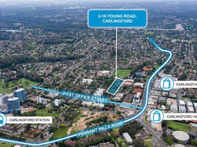 Development / Land commercial property for sale at 2-16 Young Road Carlingford NSW 2118