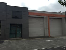 Factory, Warehouse & Industrial commercial property sold at 7/756 BURWOOD HIGHWAY Ferntree Gully VIC 3156