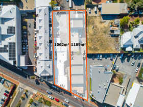 Development / Land commercial property for sale at 622 & 626 Newcastle Street Leederville WA 6007