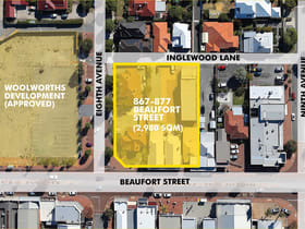 Medical / Consulting commercial property for sale at 867, 871, 875 and 87 Beaufort Street Inglewood WA 6052