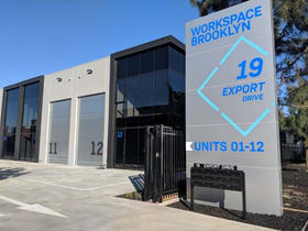 Industrial / Warehouse commercial property for sale at Unit  3/19-21 Export Drive Brooklyn VIC 3012