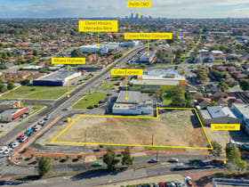 Development / Land commercial property for sale at Lot 201 Albany Highway (cnr John Street) Bentley WA 6102