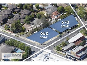 Development / Land commercial property for sale at 92 Lower Heidelberg Road Ivanhoe VIC 3079