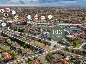 Development / Land commercial property for sale at 103 Marshall Street Ivanhoe VIC 3079