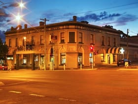 Hotel / Leisure commercial property for sale at THE CUMBERLAND HOTEL/191 Barker Street Castlemaine VIC 3450